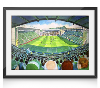 easter road on matchday